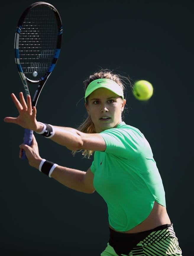 加拿大網球正妹布夏確定以外卡身分參加WTA台灣公開賽。(大會提供)