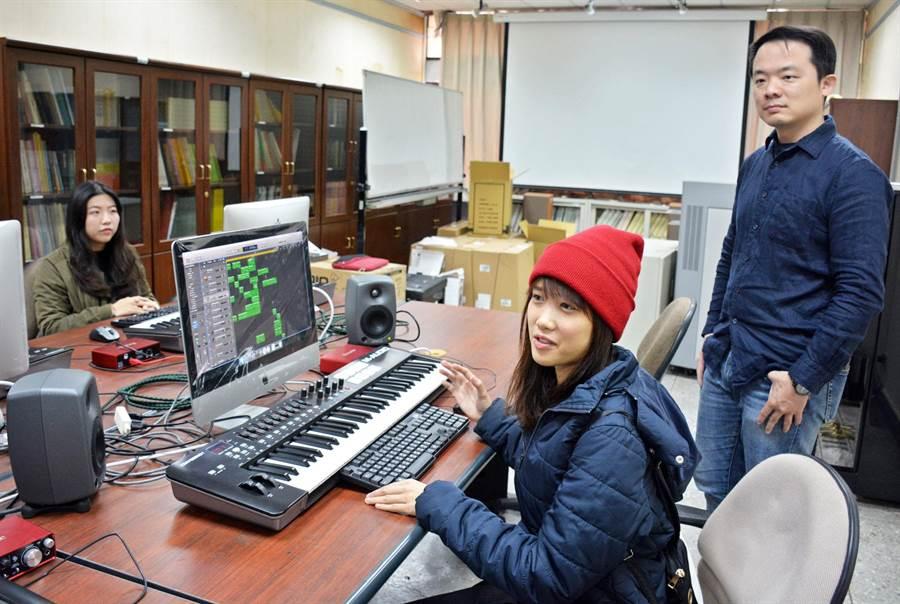 屏大音樂系增開數位、電影音樂等課程,有別過去專注古典音樂領域,有利未來學生就業。(林和生攝)