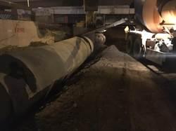 配合精武路地下道填平 中市水利局雨水下水道1月底前完工