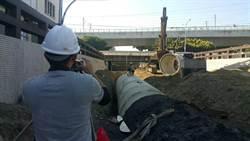 水利局配合精武路地下道填平雨水下水道本月底前完工