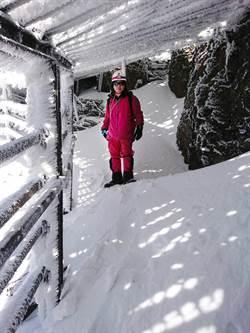 寒流發威 玉山、日月潭測出入冬最低溫