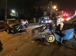 疑因超車對撞 屏市車禍1死5傷