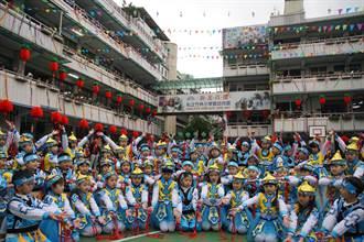 竹林小學歡慶一甲子 近千人齊聚同樂