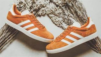 軟軟暖暖的復古麂皮材質好想入手!adidas Originals推楓葉色、暖灰色球鞋