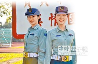 國防理工學院 女旗手不讓鬚眉