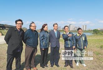 柯子湖增溼地 竹市打造左岸