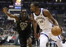 NBA》兩萬分先生發威!勇士不讓公鹿逆轉