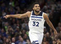 NBA》狀元郎唐斯與灰狼續頂級合約