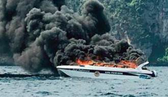 直擊》泰PP島快艇爆炸 27陸客5泰人1死16傷