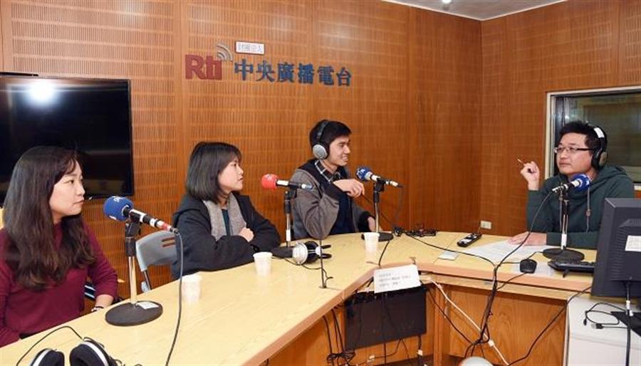 央廣專訪「蹲點‧台灣‧心南向」新二代。(中華電信基金會提供)