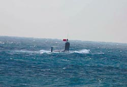 093B現身釣島 證陸潛艦水下繞台