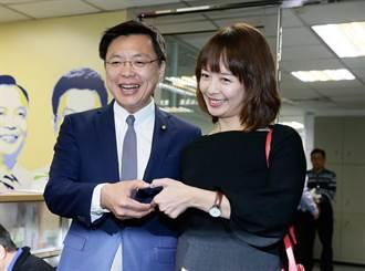 趙天麟登記高市長初選 甜美愛妻「丁丁」曝光