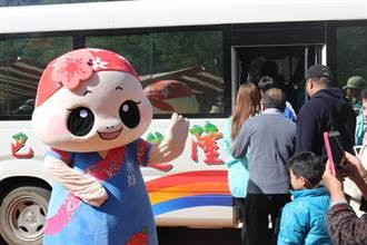 六龜賞梅人潮絡繹不絕    區公所加碼免費巴士班次接駁遊客