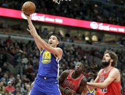 NBA》三巨頭得分破20 勇士客場擊潰尼克奪3連勝
