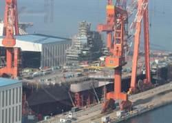 陸第二艘自建航母動工  船廠訂購門禁卡洩密!?