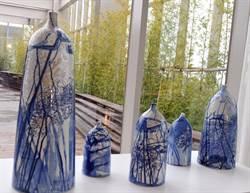 風獅爺購物中心《洸庭》開幕 16件青花瓷首檔展覽亮相