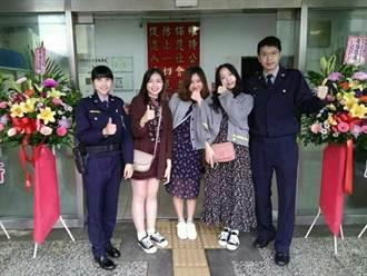 人美心更美!美女警助韓女遊客找回手機
