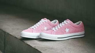 Converse推出絨絨春天鞋款!粉嫩櫻花色搭麂皮材質,穿上立刻仙氣滿滿