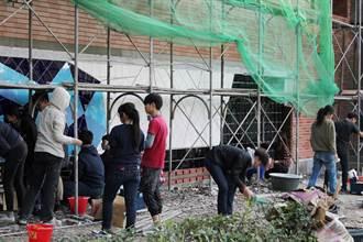 第一科大營建系教室搬到工地 培養學生動手實踐營建技術