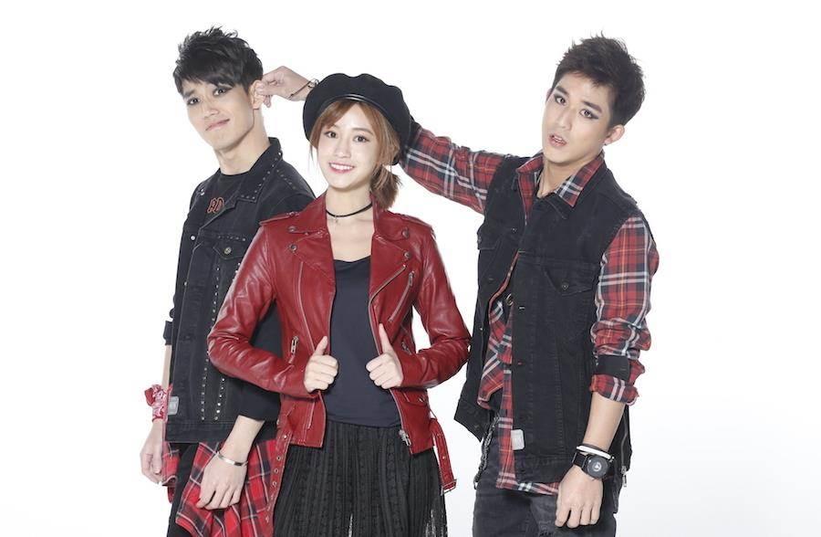 李博翔(右起)、陳敬宣、徐謀俊。(緯來提供)