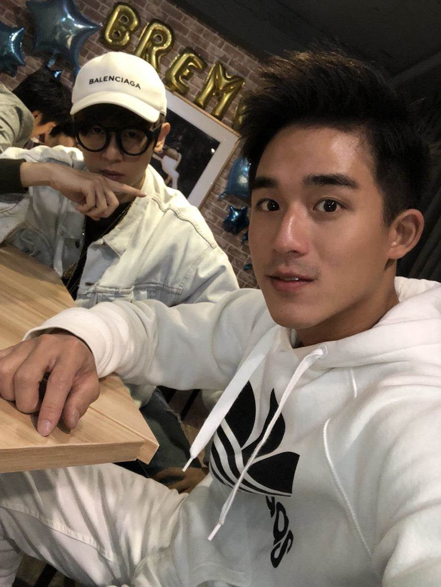 方炯鑌(左)和李博翔。(緯來提供)