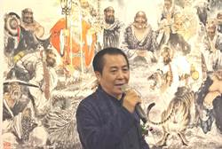 藝術家周峰作品在光慧文教館展出 掀起佛教藝術旋風