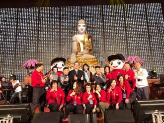 台南市消防局感恩演唱會 澎恰恰、許效舜逗熱鬧