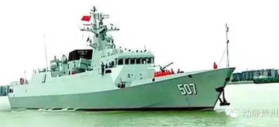 隸屬中國東海艦隊的056A型輕護衛艦銅仁艦2016年2月20日已入列,具有強大的防空,反潛與對海作戰能力。(微信動靜貴州)