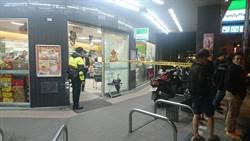 暗夜士林警追毒販 中和街頭駁火5槍超商受波及