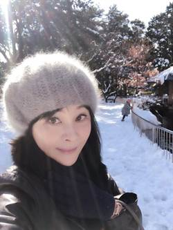 吳淡如東京遇大雪 差點受困滑雪場!