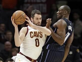 NBA》洛夫裝病開溜?騎士差點內訌