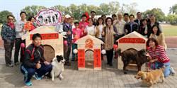 阿蓮國中學生期末完成木作狗屋5犬入住