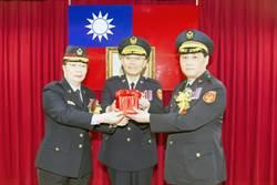 陳檡文接任航警局局長
