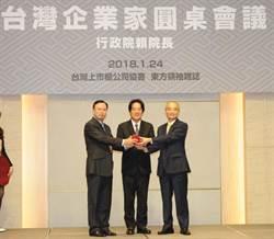 上市櫃公司協會換屆 蔡榮騰接任理事長