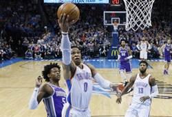 NBA》勇士獨霸西區明星隊 韋斯布魯克不滿