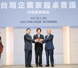 台灣上市櫃公司協會第一、二任理事長交接典禮-對接兩岸 上市櫃協會7月登陸