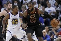 NBA》全明星賽選人結果出爐 詹姆斯搶走KD