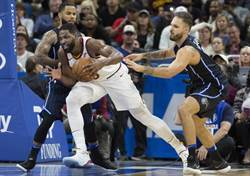 NBA》騎士禁區大將受傷 本季恐將報銷