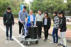 廢輪胎轉化道路標線材料 靜宜大學新研發減汙省成本