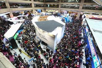 8萬人次衝台北電玩展 玩家:出去還要擠半小時!