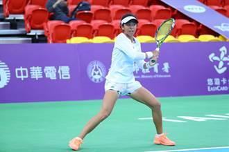 WTA臺灣賽》姊姊謝淑薇激發熱血 謝淑映目標女雙前百