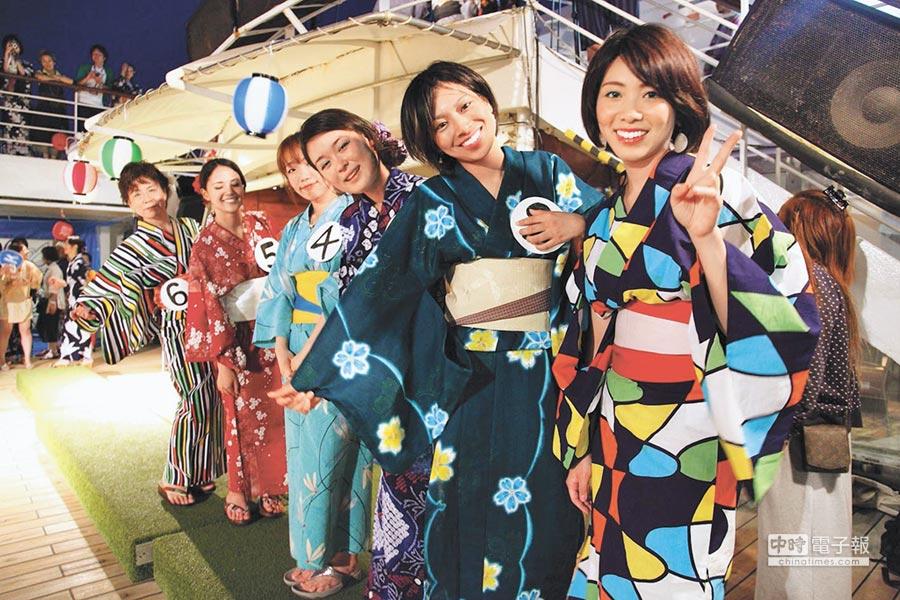 遊輪上不時會舉辦各式的派對和活動,讓你絕對沒有時間無聊。(東南旅行社提供)