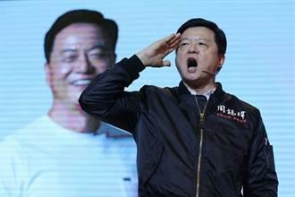 周錫瑋參選說明會 左批朱、右打蔡