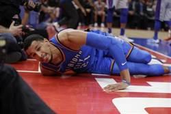 NBA》雷霆先發後衛羅伯生本季報銷