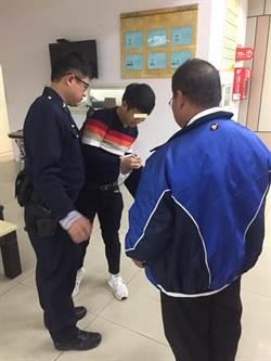 中市警20分鐘找回護照與錢包 外籍旅客按讚