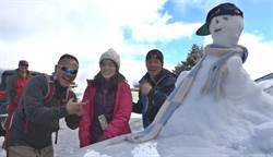 超強寒流報到 氣象局:想堆雪人就來這