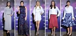 WTA台灣賽》精靈布夏短洋裝配鏤空短靴 成晚宴嬌點