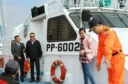 15年前破浪救孕母產嬰 巡防艇除役少女現身感謝