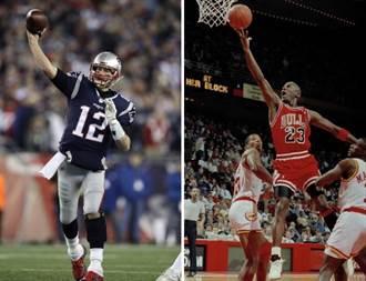喬登vs.布雷迪 誰是最偉大運動員