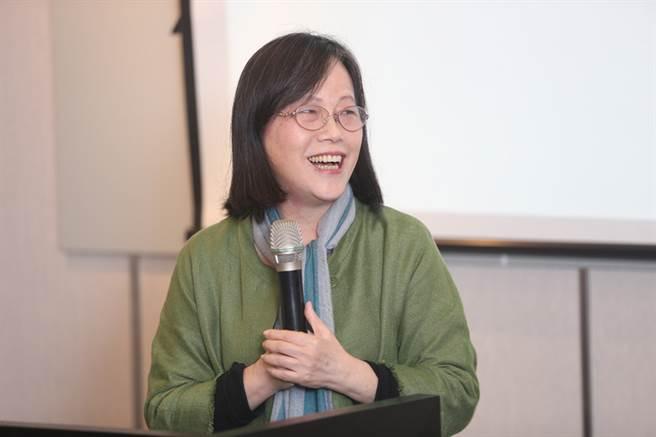 九歌出版社30日在台北舉行40週年社慶活動,作家廖玉蕙受邀出席。(中央社)